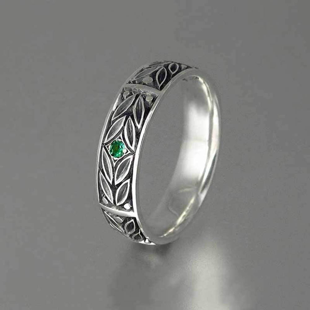 Dell'anello moda europee e americane stile placcato argento antico uomini di personalità gioielli anello degli uomini semplici gioielli di design a mano all'ingrosso