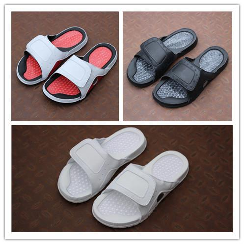 Hot Sale- white red 13 slippers Soft Sandals outdoor trainers sneakers sports walking running men basketball top quality size 40-47