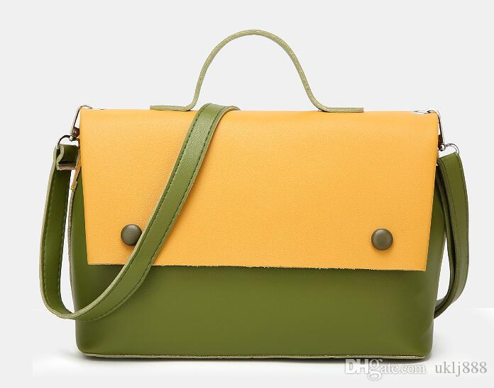 женские сумки новой тенденции, модный простой клапан, ретро корейская версия сумка через плечо, женская цепочка