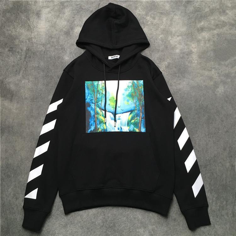 Homens Hip Hop pulôver Streetwear Gogh Pintura bordado camisola de malha retro Autumn blusas de algodão jaqueta de 3699
