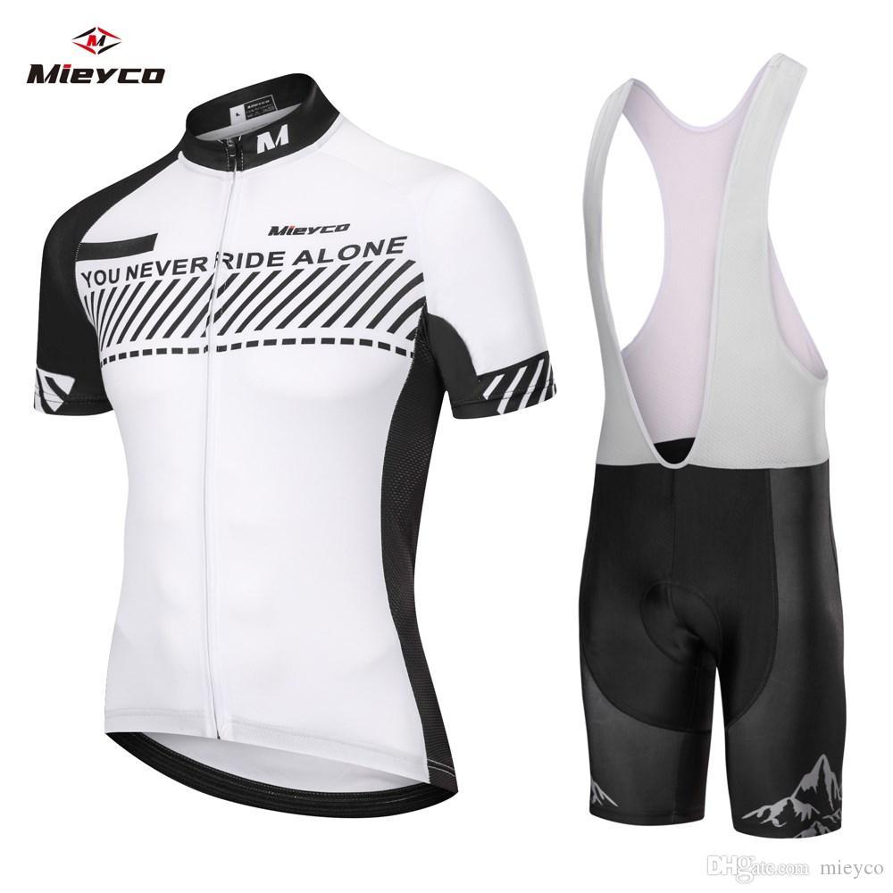 2020 Men/'s Racing Clothes Cycling Jersey Bib Shorts Set Outdoor Bike Sports Kits