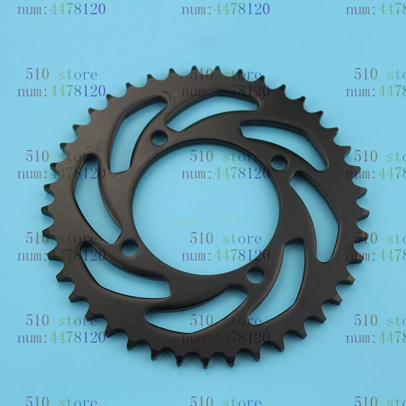 free shipping 420/428 41t 76mm rear chain sprocket gear wheel plate fit ATV Quad Pit Dirt Bike Motorcycle Motocross