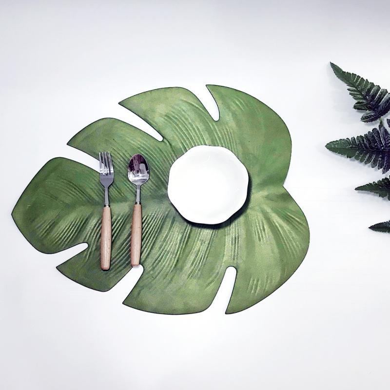 2019 Tortue Feuille Set De Table Été Partie En Plein Air Décoration Pique-Nique Tapis Unique Set