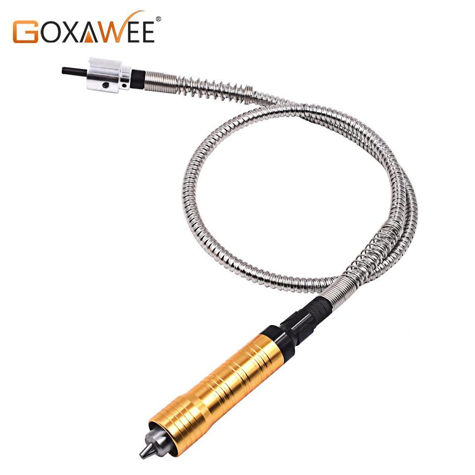 GOXAWEE eje flexible Flex adapta Cord multifuncional Extensión rodillo de fresado Herramientas para el taladro eléctrico Herramientas eléctricas Accesorios