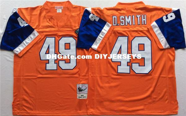 sale retailer 88970 9b7df 2019 Mens Dennis Smith Vintage Football Jersey Stitched Tom Jackson Gary  Zimmerman Karl Mecklenburg Jersey From Diyjerseys, &Price; | DHgate.Com