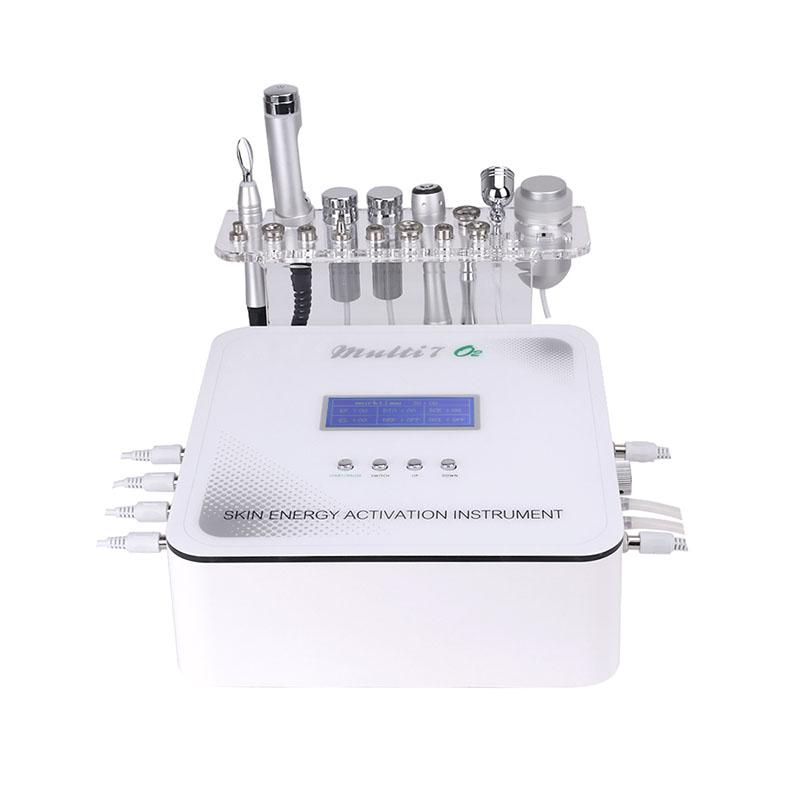 Diamond Dermabrasion Microcurrent Therapy Machine 7 in1 mesotherapy face and eye lift machine skin whitening wrinkle removal beauty machine