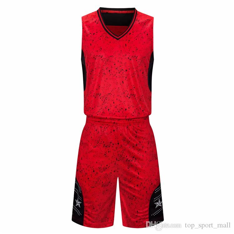 Cheap Basketball Jersey Sets For Men Good Quality New Style 107
