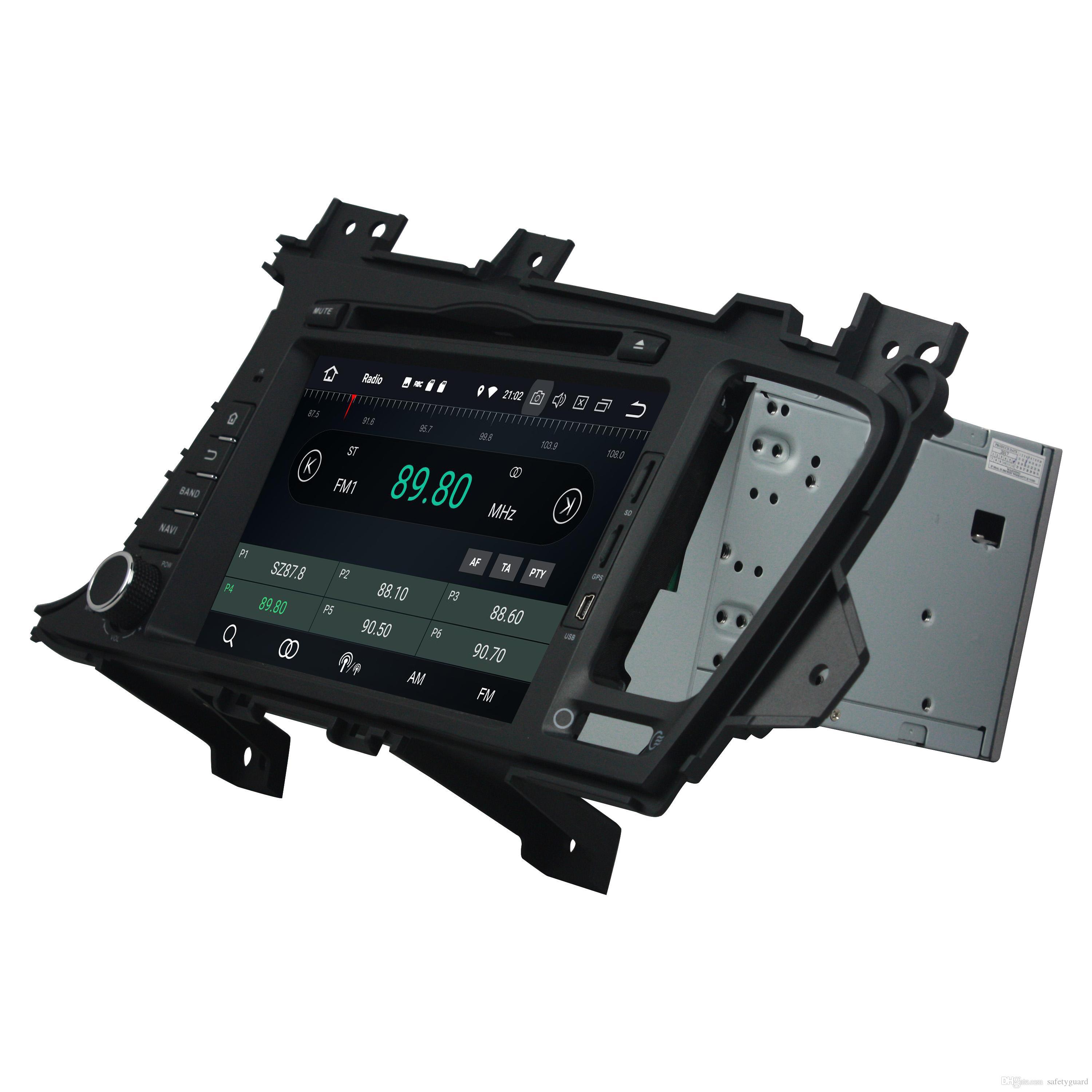 """IPS PX5 안 드 로이드 8.0 Octa 코어 2 딘 8 """"자동차 DVD 라디오 GPS 기아 K5 Optima 2011 2012 2013 2014 2015 블루투스 와이파이 USB 4 GB RAM 32 기가 바이트 ROM"""