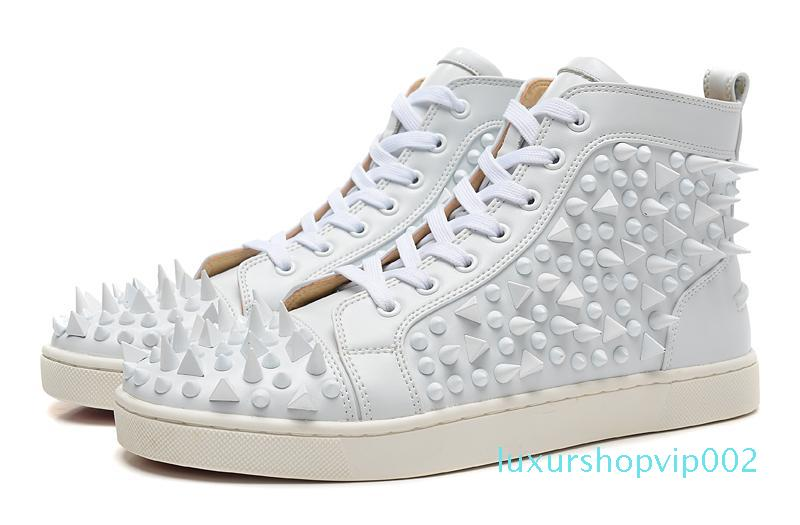 Hococal Fashion Luxury Mens Red Bottoms