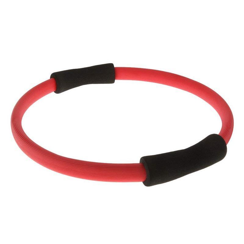 Círculo de la aptitud del anillo de resistencia de la Mujer de la yoga de ejercicio físico