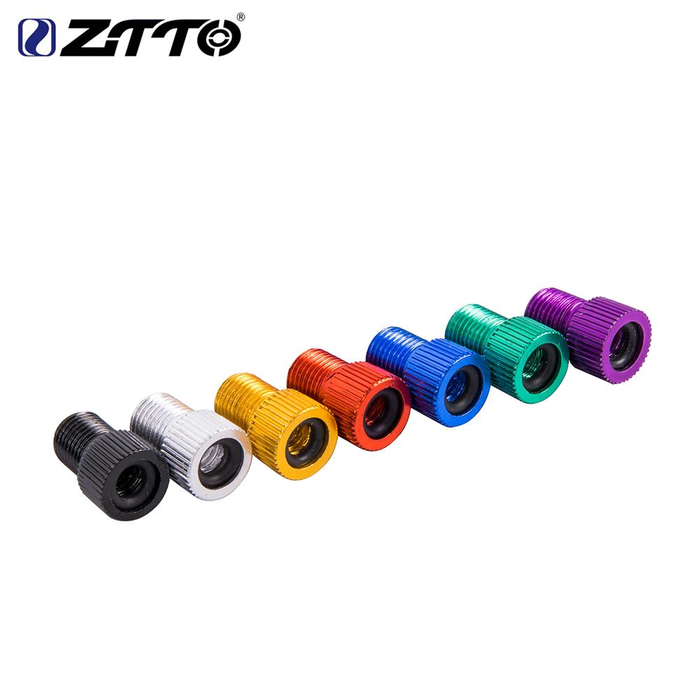 ZTTO Bicycle Valve Adapter for MTB Road Bike Presta to Schrader Inner Tube Tire Convert Repair Bomba Bicicleta Bicycle part