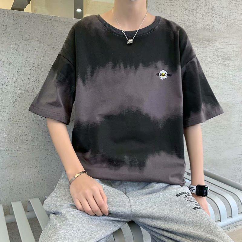 una pieza gráfica camiseta de manga corta de la camiseta de los amantes del verano sueltan la media manga camisetas de los hombres de manga corta Streetwear
