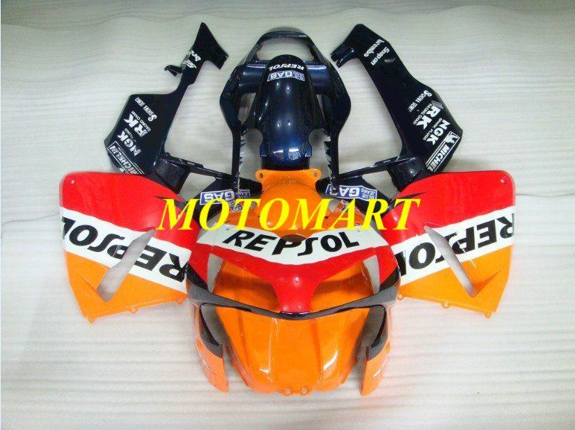 Мотоцикл обтекатель комплект для HONDA CBR600RR CBR 600RR 2003 2004 CBR 600F5 CBR600 03 04 красный оранжевый синий обтекатели комплект + подарки HM02
