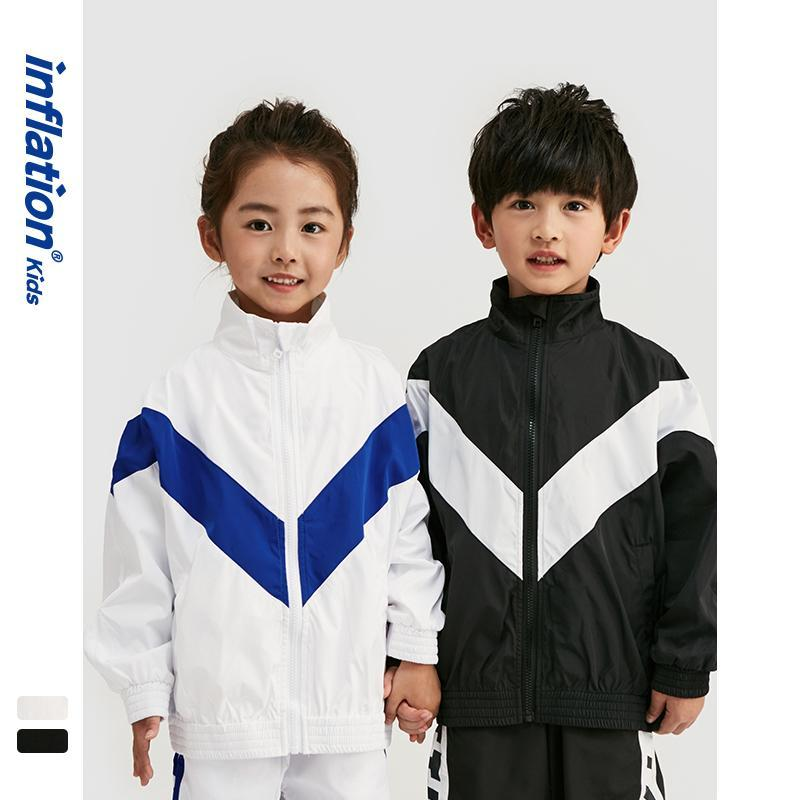 OutwearChildrens Niños Niñas chándal 2020 nueva llegada del resorte 4-10 años Una persona Niños chándal fina ropa de los niños SW9650