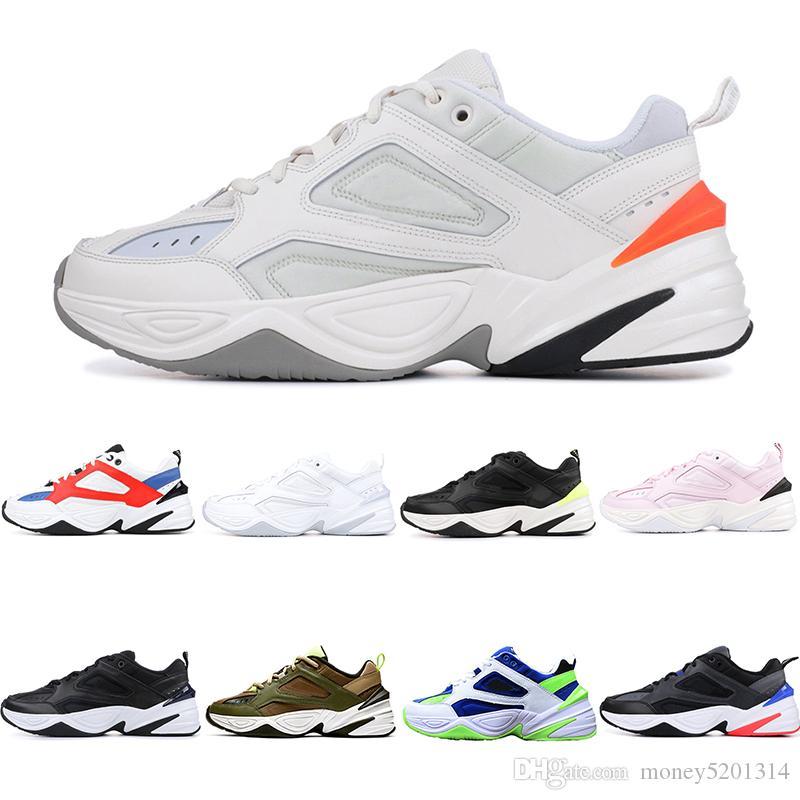 Nike W M2K Tekno Avec la boîte M2K Tekno Dad Sport A00354 Chaussures de course pour femmes Top qualité Hommes Designer Zapatillas Sport Baskets Sneakers