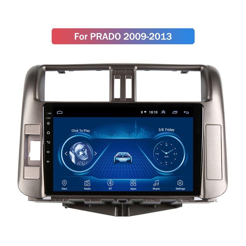 9 Inch Android 10 Car Multimedia System for Toyota PRADO 2009-2013 Gps Radio Navigation