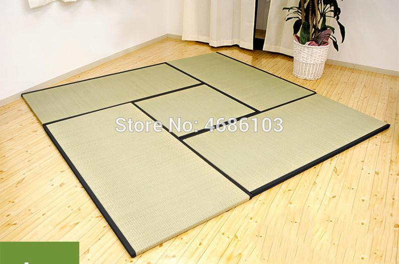stile giapponese naturale della paglia Cori materasso apribile tatami materasso spessore 3 centimetri piano di protezione ambientale