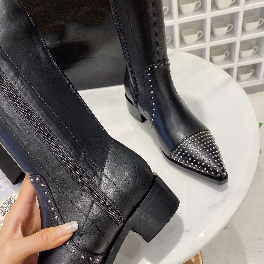 2020 neue italienische Marke Luxus Frauen Mädchen über Thek nee Stiefel Designer Oberschenkel lange Stiefel Mode Damen Freizeitschuhe B103233Df0e5 Frauen #