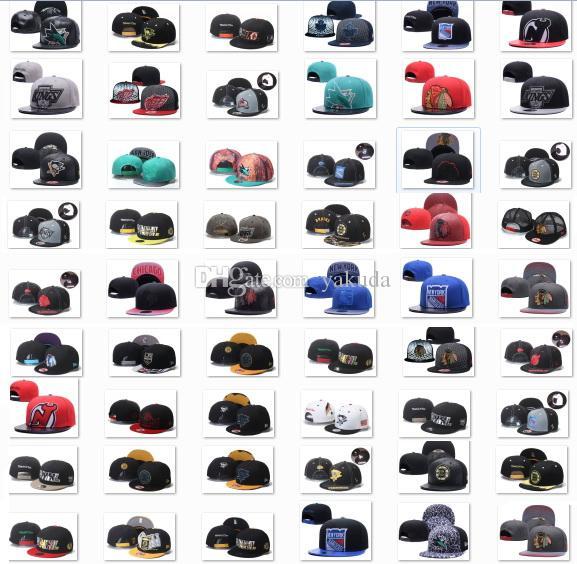 2020 nuevo estilo de hockey sobre hielo Snapback capsula casquillos ajustables caliente venta de la Navidad sombreros, Gran Headwear, envío libre de DHL Snapbacks barato, Hoc de la vendimia