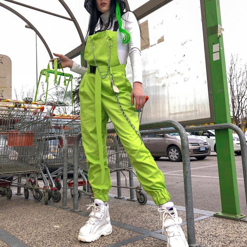 Style de la rue Western Snap-style pantalon FEMMES 2020 été nouvelle tendance produits frais Sac Zipper Boucle jarretelle Bracelet