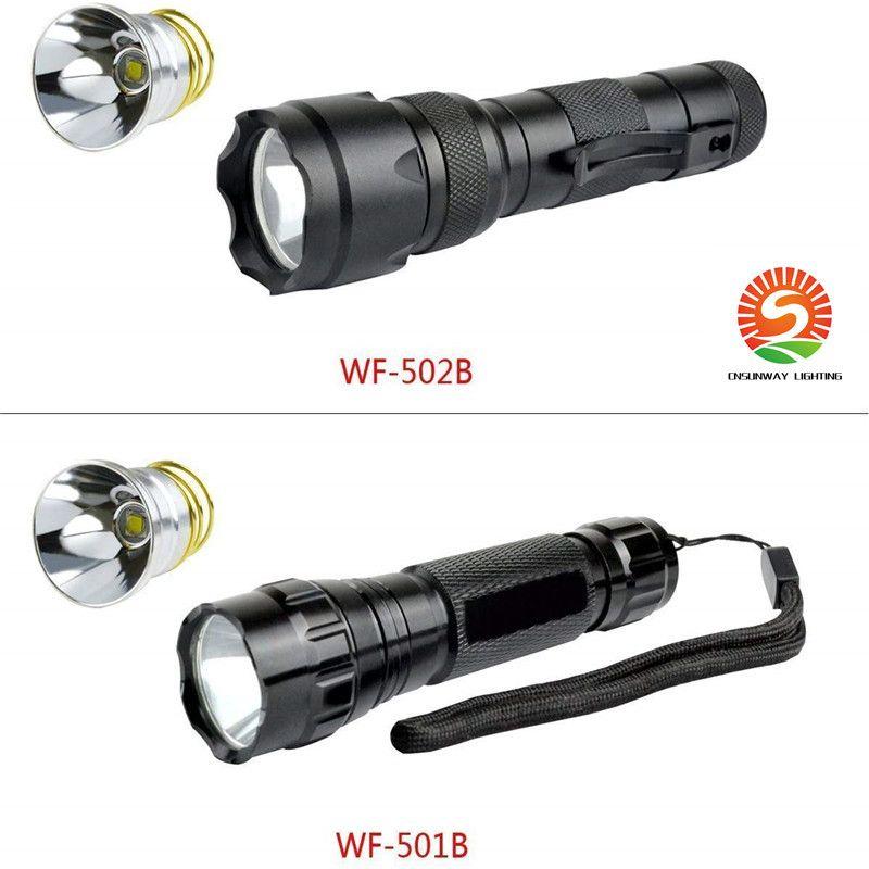 NOUVEAU Ampoule CREE XM-L2 Ampoule à LED 1 Mode 1200Lumées Drop-in P60 Module de conception P60 Pièces de poche Pièces de réparation Pièces de réparation Ampoule de remplacement pour Surefire Hugsby C2 G2