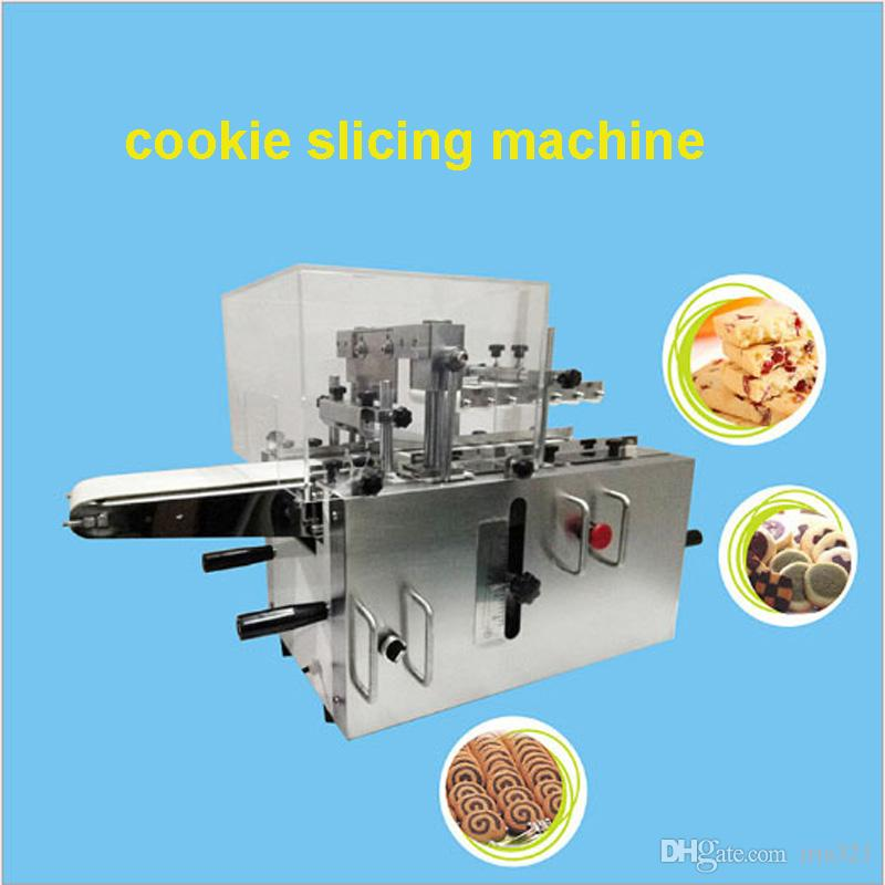 I produttori forniscono biscotti fatti a mano surgelati fette macchina biscotti completi set di biscotti cookie manuale affettatrice biscotti