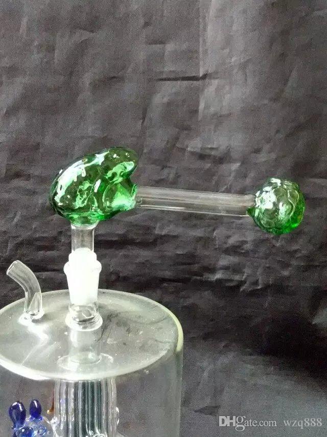 Pot de verre couleur grenouille Rôti de Narguilé Accessoires