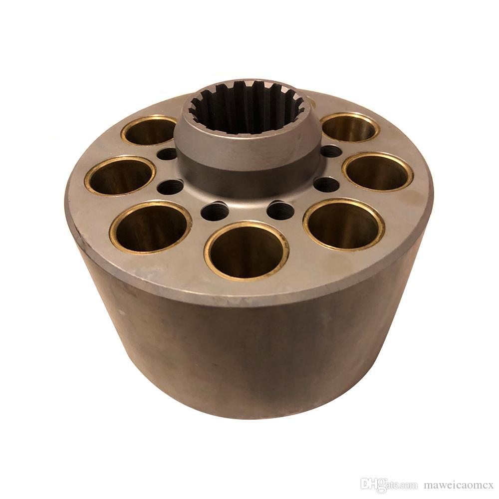 Parti della pompa K3V140DT Kawasaki kit di riparazione Pompa a pistone idraulico blocco cilindri piastra valvola pezzi di ricambio