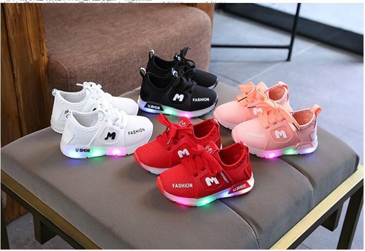 2020 новых детей кожаные ботинки больших и маленьких детей спортивная обувь