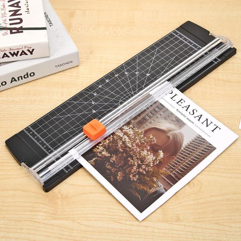 مكتب قاعدة يموت قطع آلة محمولة قطع الورق البلاستيك الرئيسية القرطاسية سكين A5 / A4 ورقة ورقة أدوات القطع بليد الفن المتقلب الحرف