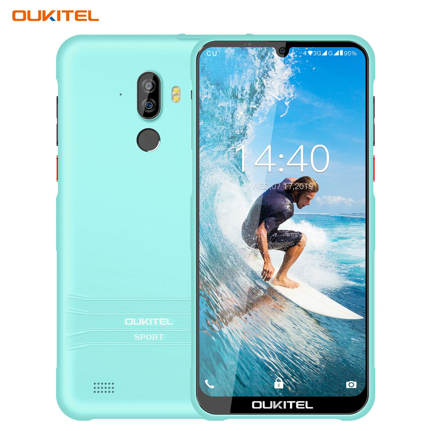 "Più sottile IP68 impermeabile OUKITEL Y1000 3G WCDMA Quad Core 2 GB 32GB 6,088"" Schermo Waterdrop Full HD + Face ID Fingerprint Rugged Smartphone"