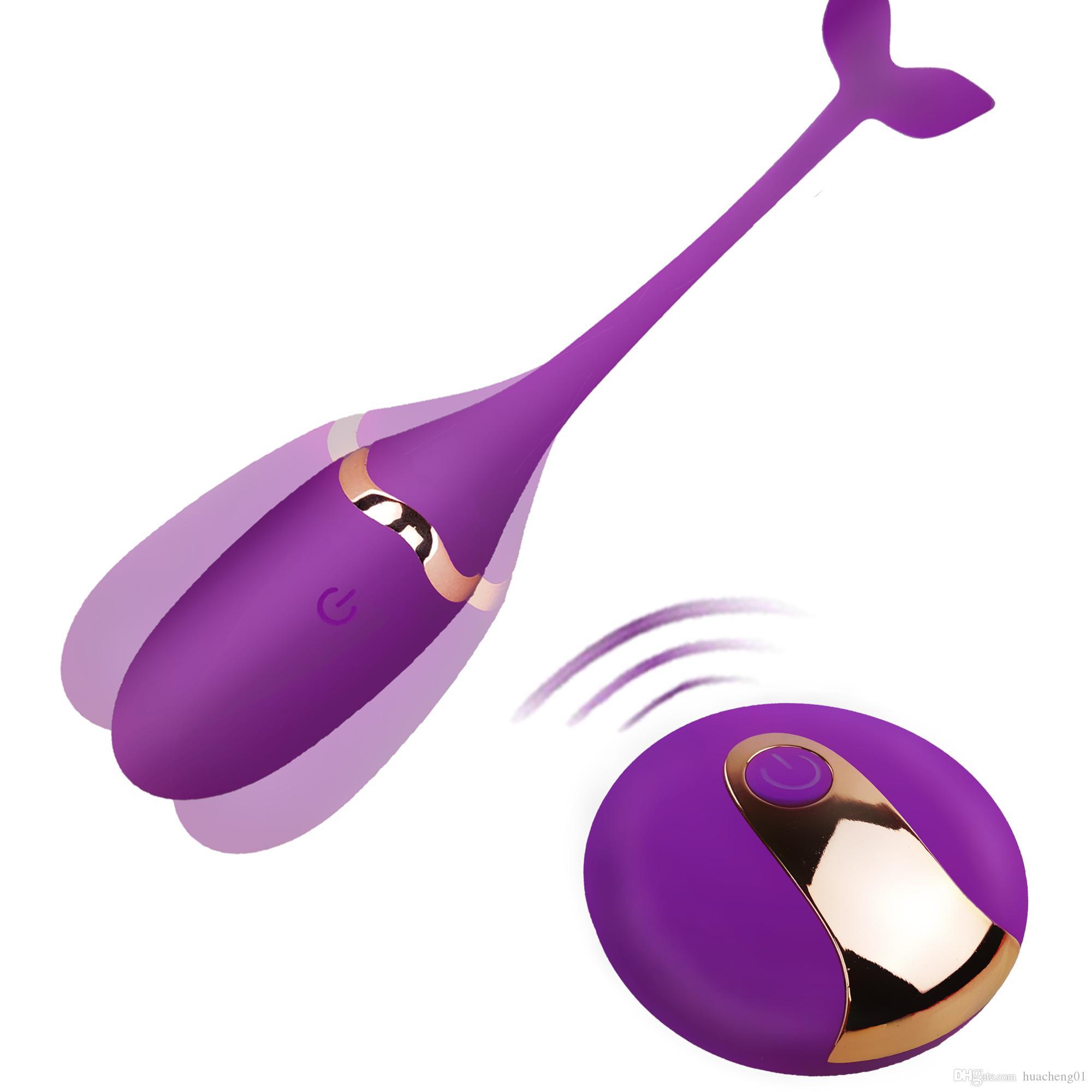 Sex Product Rechargeable Vibrating Jump Egg Remote Control Vibrators Sex Toys for Women Exercise Vaginal Kegal Ball G-spot Vibrator Massager
