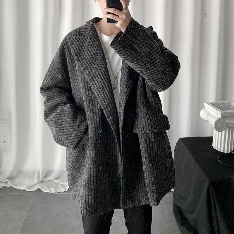 Tembel Gevşek Avrupa Ve Amerika Dinlence Sports Uzun Ceket Streetwear Of 2019 Sonbahar Ve Kış Kore Sürüm