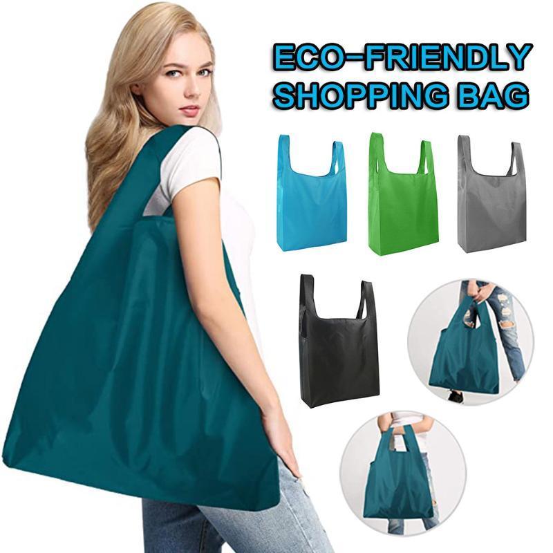 Einkaufstasche Wasserdichte Faltbare Frauen Obst Gemüse Große Aufbewahrungstaschen Tragbare Tuch Wiederverwendbare Lebensmittelgeschäft Handtaschen Kapazität Jcmil