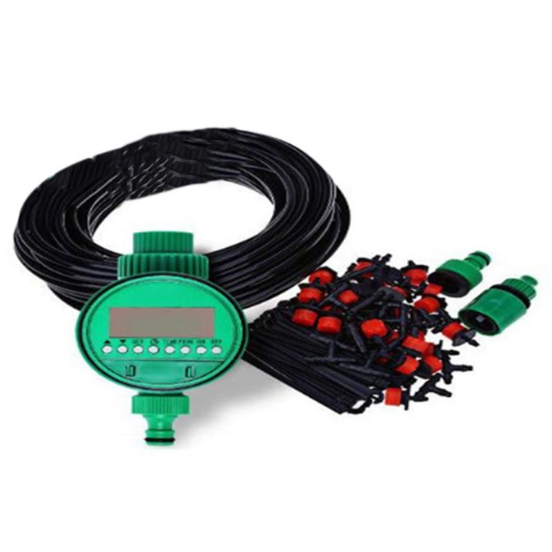 HHO-25M Diy Automatic Micro-Drip Irrigation System Plant Watering Garden Hose Kits With Adjustable Dripper Garden Watering Kits