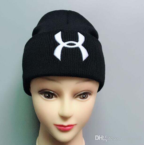 2019Newest Unisex Kış Erkekler marka örme şapka erkekler moda Beanies kadın açık havada rahat kayak kafatası kapaklar sıcak Gorro