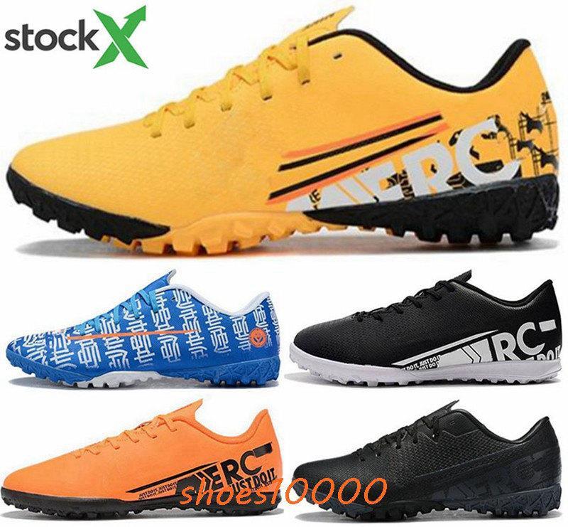 TF IC Zapatos EUR 46 formato US 12 Mercurial vapori 13 Elite scarpe da calcio CR7 Mens tacchetti da calcio Uomini XIII ronaldo Scarpe Superfly 7 Sneakers
