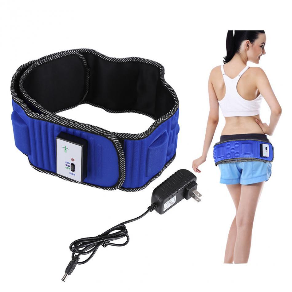 Electric Vibrating Massager 5 Motors Slimming Belt Burning Fat Weight Losing Vibration Waist Leg Body Sauna Fat Burning Machine