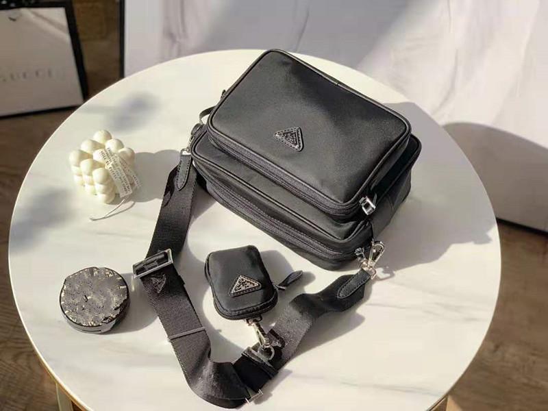 Sacs Han édition de sac en nylon Nouveau single Hommes d'épaule hommes Contracted Oblique Satchel Homme Loisirs Petit sac à dos épaule Un Designer