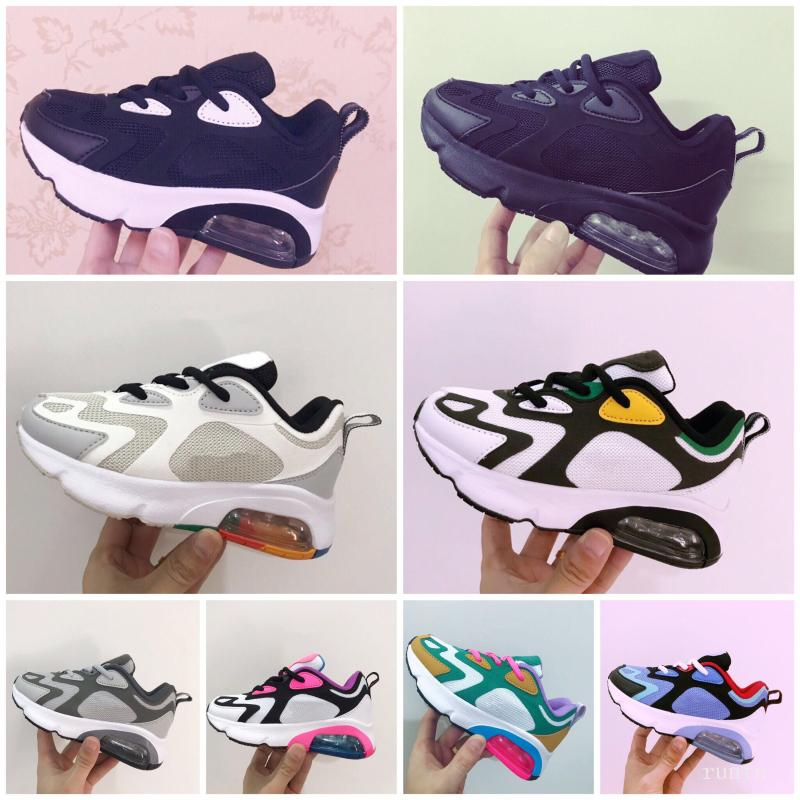 New cushion Kids Running Shoes Boys Girls Casual Fashion permeable braided Sneakers Athletic Walking shock-relief Sports Trainers