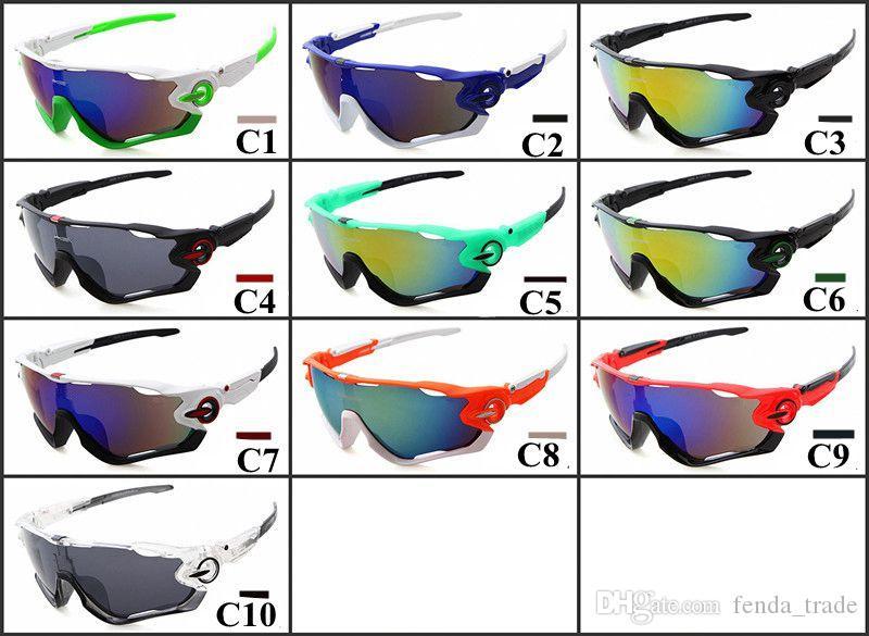 Cycling Sunglasses UV400 Protection Outdoor Jaw Sport Fishing Bicycle Hiking Cycling Glasses Windproof Cycling Eyewear 2082 MOQ=5PCS