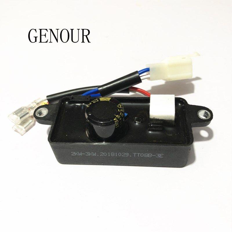 Jeneratör yedek parçaları için Lihua Otomatik Voltaj Regülatörü, LiHua AVR 2KW 2.5KW 3kw 250 V tek fazlı Jeneratör AVR en kaliteli