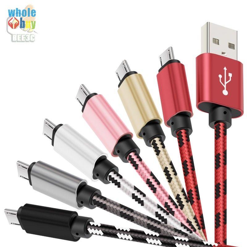 1м 2м 3м 2A Быстрая зарядка Micro USB кабель для мобильного телефона Android Data Sync, зарядное устройство кабель для Samsung для Xiaomi 100шт Android устройств / много