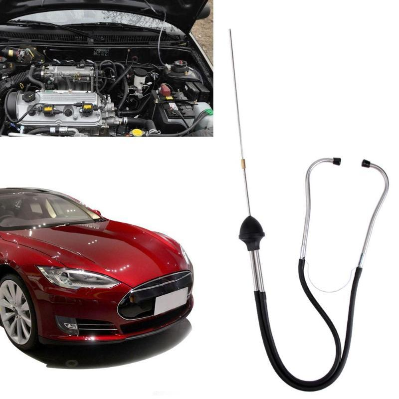 الفولاذ المقاوم للصدأ المهنية ميكانيكا السيارات السماعة محرك السيارة كتلة أداة تشخيص اسطوانة أدوات السمع السيارات
