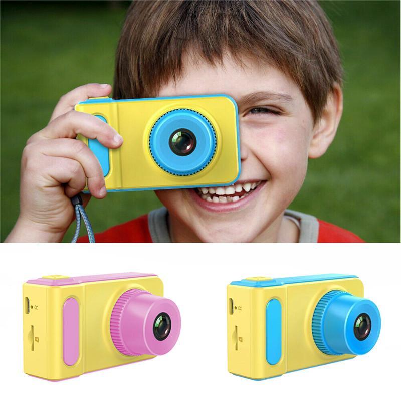 كاميرا للأطفال الأطفال الرقمية 12MP HD 1080P دعم 32G كاميرا فيديو