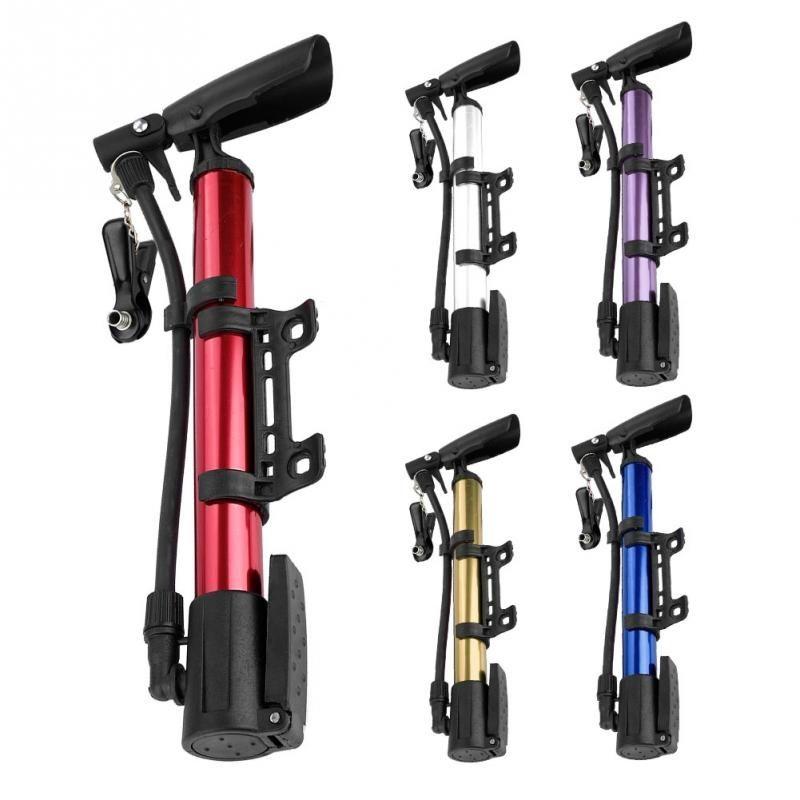 New Super Mini Portable Cycling Bike Bicycle Hand pressure Inflator Tire Pump
