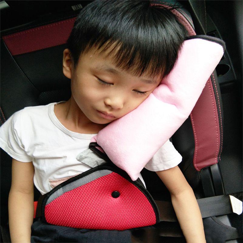 Çocuk emniyet kemeri omuz kapak çocuk kafalık araba iç malzemeleri yumuşak omuz pedi kapak bebek arabası yastık peluş