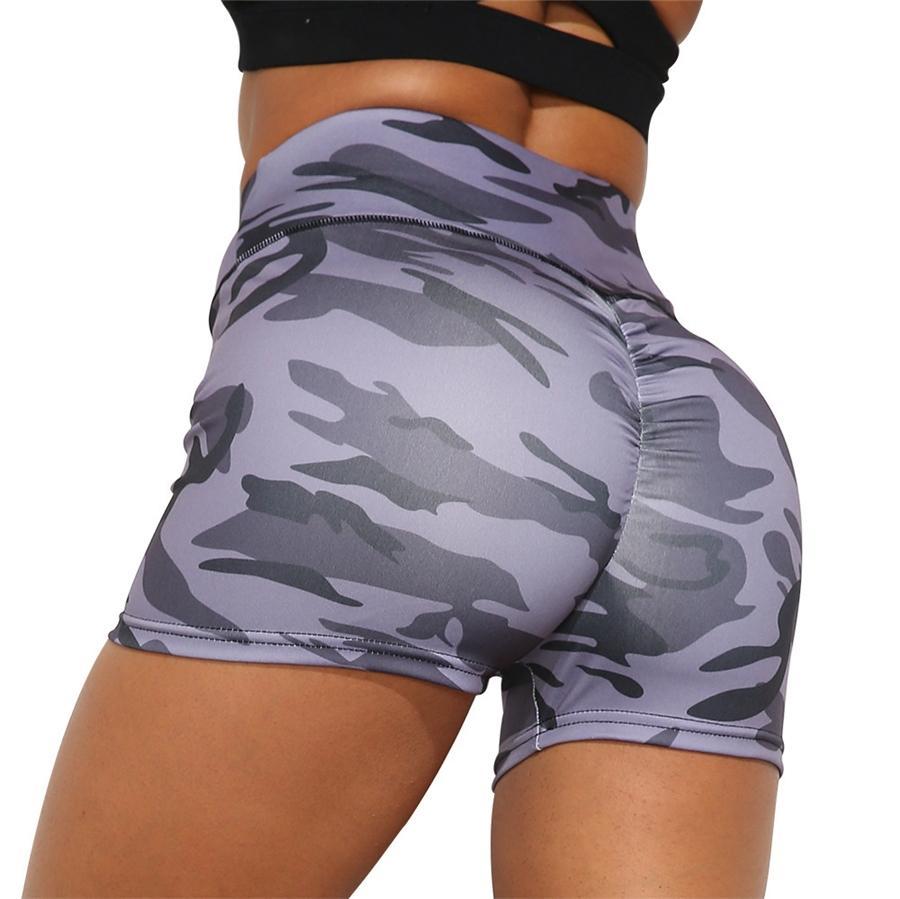 Nhud AVM Kadınlar Dijital Baskı Crop Top Yüksek Bel Pantolon Spor Yoga İki Parçalı Kıyafetler # 294