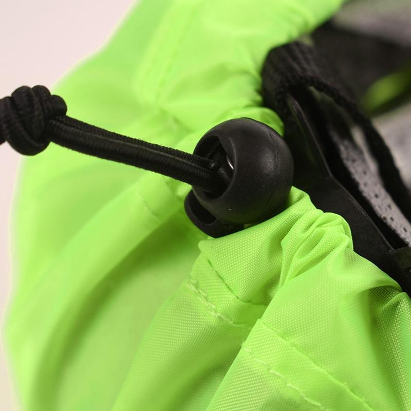 Reflektierende Fahrradhelm Abdeckung High Visibility wasserdichter Fahrradhelm Regen Abdeckung Mtb-Straßen-Fahrrad-Fahrgetriebe