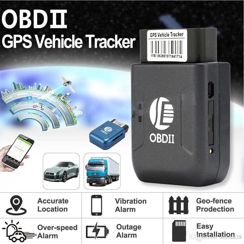 OBD2 GPS tracker TK206 Real Time GSM Quad Band Anti-theft Vibration Alarm GSM GPRS Mini GPRS tracking OBD II car gps